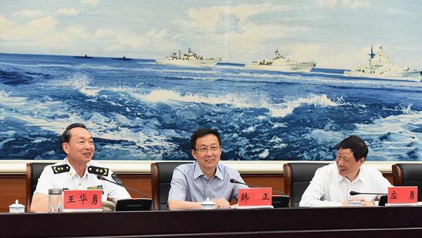 韩正:驻沪部队全面停止有偿服务工作已进入攻坚阶段