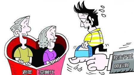 5省出台独生子女照料假 上海有望推广长期护理险