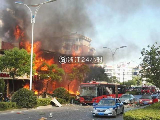 杭州一店铺发生燃爆事故 已致2人死亡55人受伤