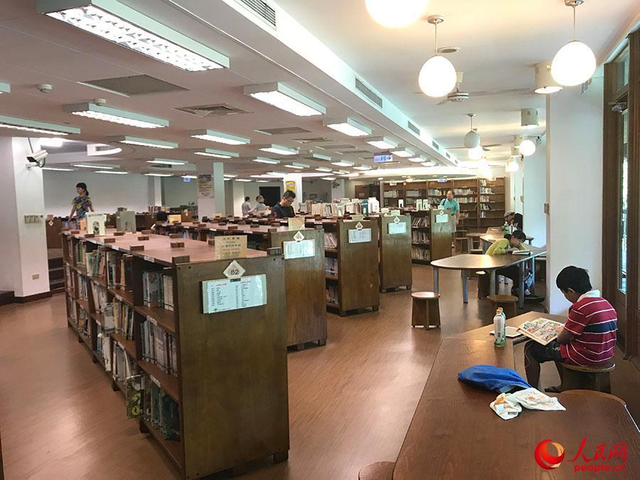 台湾北投图书馆——在世间最美的图书馆读书