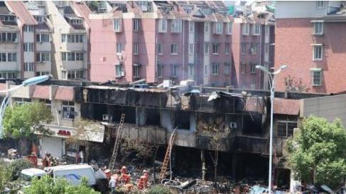 杭州爆燃事故情况通报:初步判断为餐馆瓶装液化气爆燃