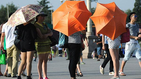 高温橙色预警:上海浙江等10省份局地超40℃