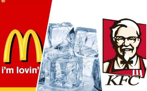 继星巴克后 英国肯德基、麦当劳冰块测出含有粪大肠杆菌