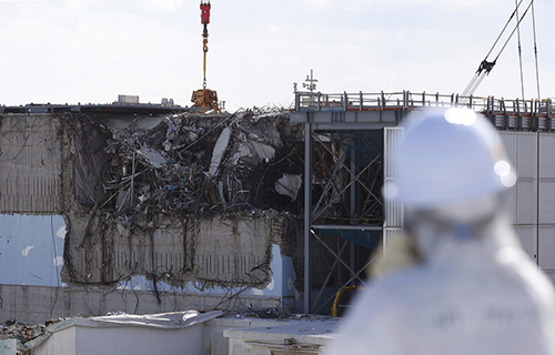 福岛核事故调查:机器人发现疑似熔落核燃料