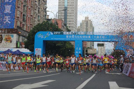 2017凉都 六盘水夏季国际马拉松赛激情落幕