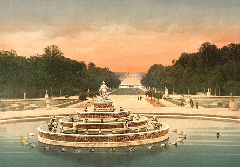 美不胜收!老照片现百年前法国风景名胜