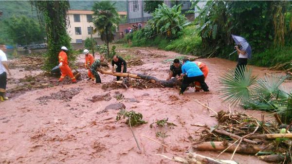云南强降雨致10人死亡2人失踪 直接经济损失2.7亿元