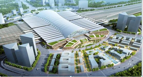三家国际顶尖设计机构参与济南城市次中心新东站核心区城市设计