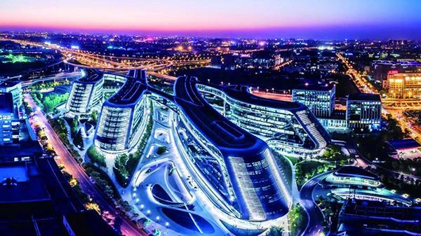 阅读上海100胜 36 | 临空虹照 西区商务高地逐浪互联网时代