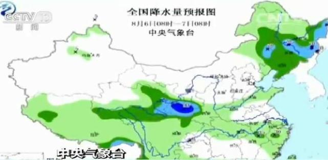 中央气象台:中东部降雨增多 明起高温将缓解