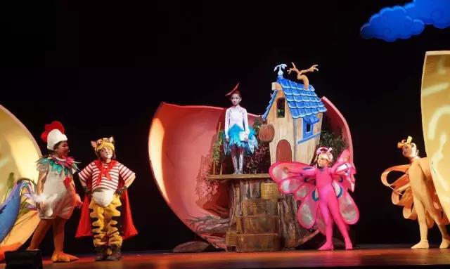 区少年宫儿童剧《一只想飞的猫》首演成功