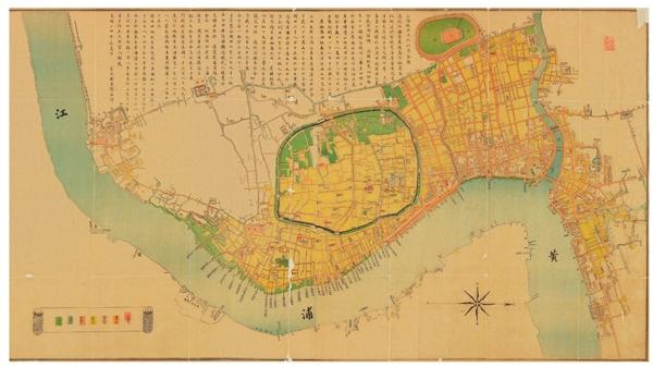 明代的上海是怎样的?这部地图集带你看遍上海城市变迁