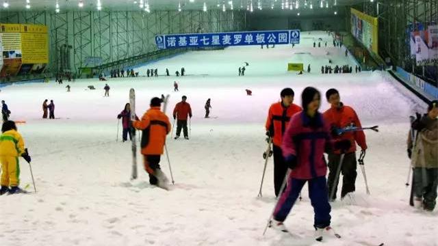 """上海人熟悉的""""银七星""""室内滑雪场年底回归"""