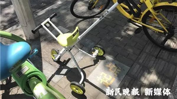 共享遛娃小车现身上海 首批投放500辆押金99元 你会尝试吗?