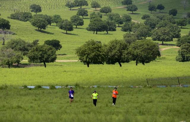 首页 社会 正文    8月18日,参赛选手在风景优美的科右中旗五角枫景区