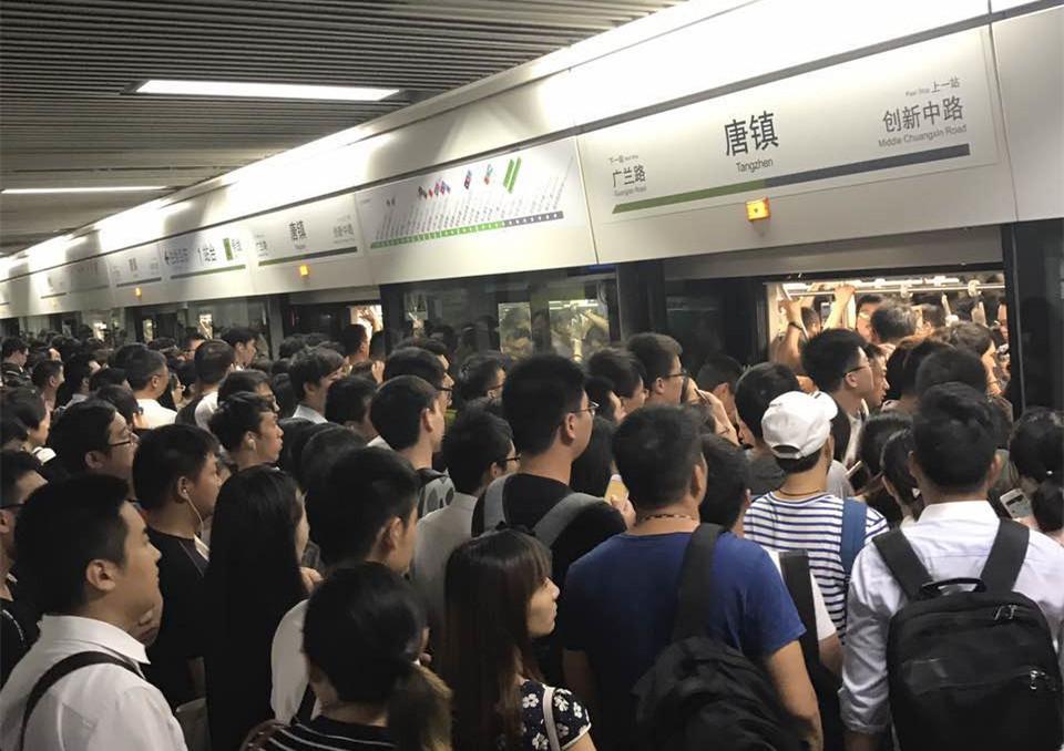 今早高峰上海地铁1、2、8号线连发故障 现已全部排除