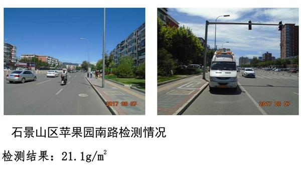 """北京治霾""""新武器""""全国首个道路尘土移动检测系统抽查全市1500条道路""""以克论净"""""""