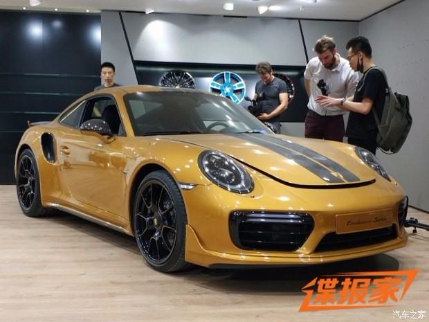2017成都车展探馆:保时捷911特别版
