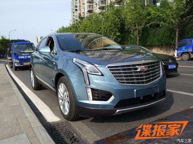 2017成都车展探馆:凯迪拉克XT5 28E