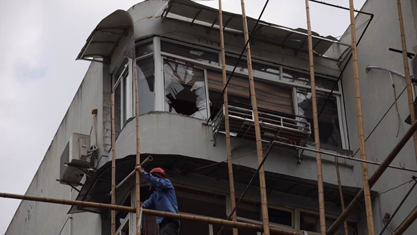 普陀志丹路一住户今凌晨发生天然气泄漏 引发燃爆