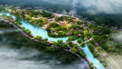 梅江区整合文脉资源 投逾亿元打造十里梅花长廊