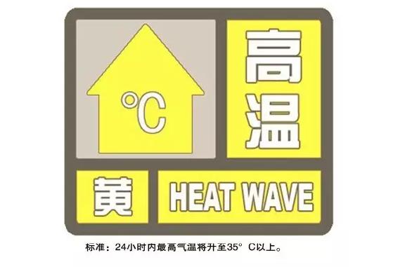 上海刚刚发布高温黄色预警!或为今夏最后一个!