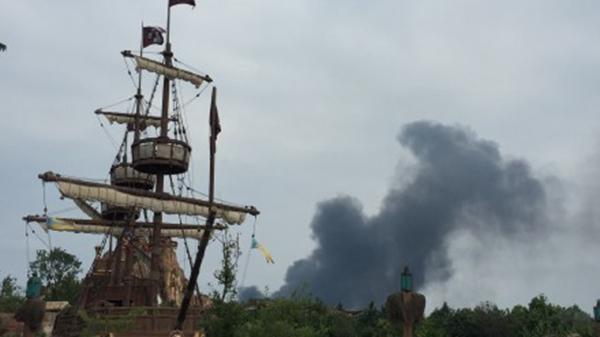上海迪士尼乐园着火?没有没有,没有的事!