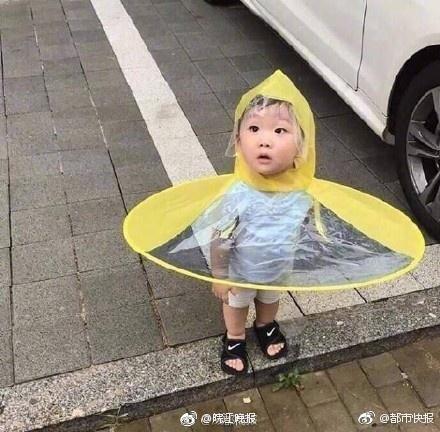 祖国的花朵专用雨衣 小朋友你火了知道吗