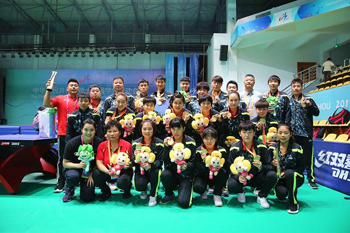 大满贯!全国学生运动会上海乒乓球团体赛全面开花,包揽四金!