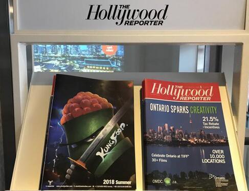 《美食大冒险》惊艳多伦多 秀出功夫美食概念海报