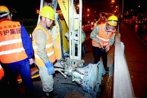 北京东三环主路大修主体完工 计划10月底前全部完工