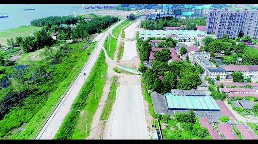 新武金堤中段3.8公里何时通车 周边5万居民盼便利出行