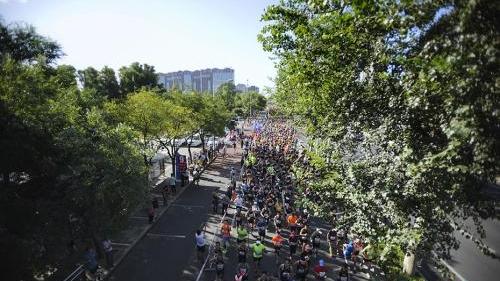 中国马拉松热的背后:蹭跑 替跑 一个名额炒到2000块