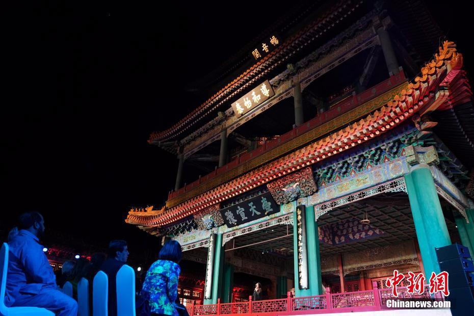 故宫畅音阁开馆将为观众恢复宫廷剧目演出