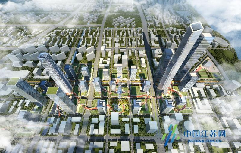 江北新区将刷新南京新地标 超级 地下城 同期开建图片 367622 800x509