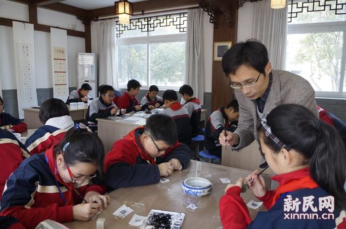 上海市罗星中学:让教育充满阳光