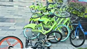 深圳:22项措施规范管理共享单车 不得妨碍行人通行纳入城管平台