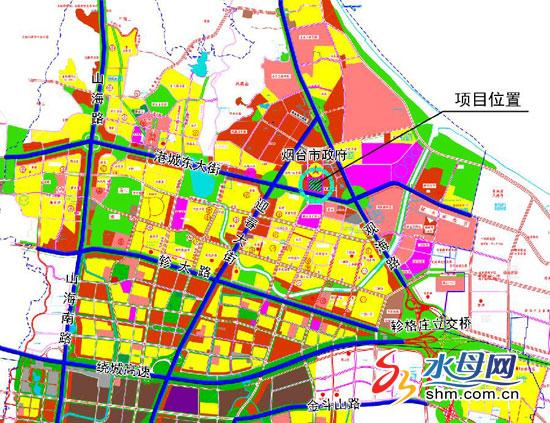 烟台市政府前规划建烟台市民休闲公园(图)