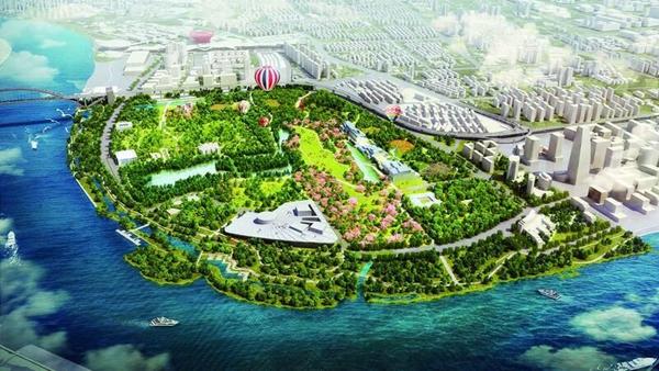 上海文化体育设施新风景 1|世博文化公园:在历史叠加中重生