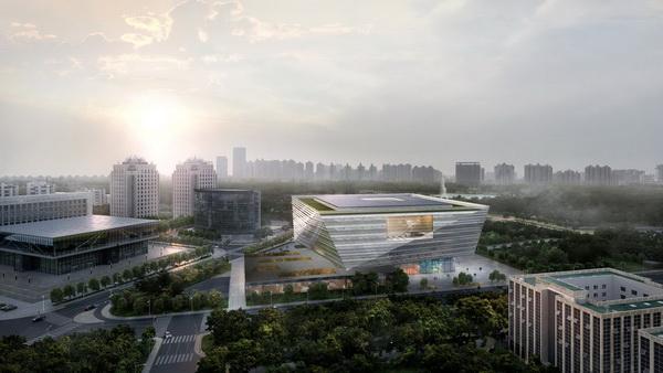 上海文化体育设施新风景 3|上海图书馆东馆:营造可阅读的建筑