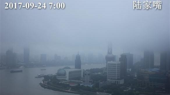上海今继续阴雨 最高温23℃ 明起小幅升温