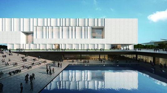 上海文化体育设施新风景 2|上海博物馆东馆:历史向东望