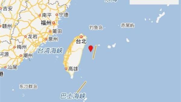 台湾花莲县海域发生4.0级地震 震源深度19千米