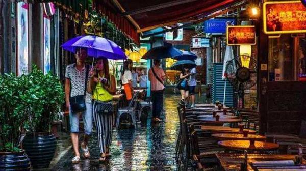 今天上海北部地区大到暴雨 未来3天仍将有雨