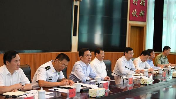 韩正:驻沪部队全面停偿工作取得阶段性成效