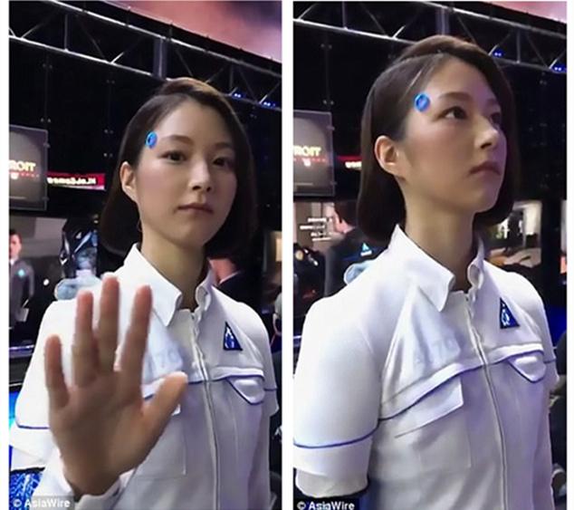 你能分辨出她是机器人还是真人吗?