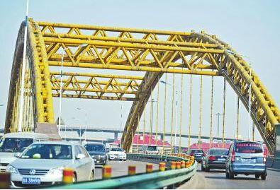 工期200天,济南顺河高架跨铁路桥迎19年来首次大修