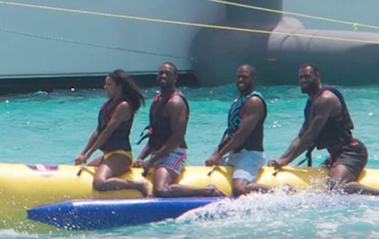 韦德:当年我并不想上香蕉船 都是他们逼着我上的