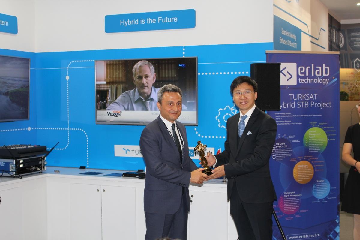 中兴通讯携手土耳其Turksat联合发布Hybrid机顶盒