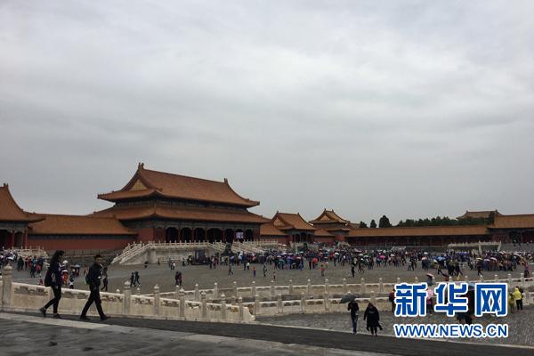 北京故宫博物院首次实现全网售票